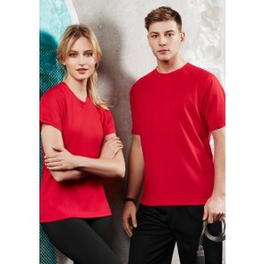 Biz Collection Men's Sprint Tee - Models Red