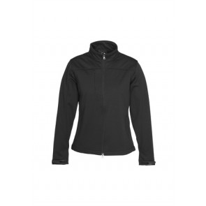 Biz Collection Ladies BIZ TECH™ Soft Shell Jacket - Black Front