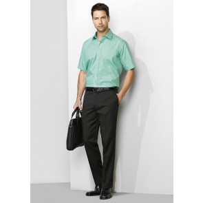 "Biz Corporate Mens Slimline Pant 'Plain"" Model"