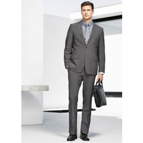 "Biz Corporate Mens Slimline Pant 'Rococo"" Model"
