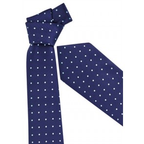 Biz Corporate Mens Mens Spot Tie - Alaskan Blue
