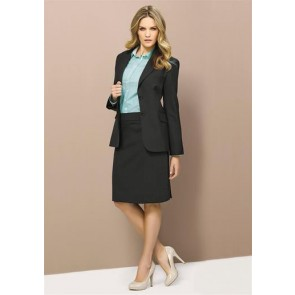 Biz Corporates Ladies Longline Jacket - Model