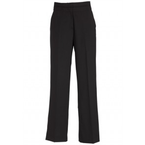 Biz Corporates Ladies Mid Rise Piped Band Pant