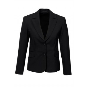 Biz Corporates Women's Short Jacket with Reverse Lapel