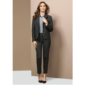 Biz Corporates Ladies Short Jacket with Reverse Lapel Model