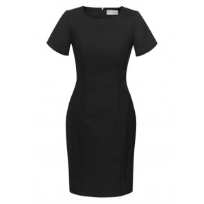 Biz Corporates Ladies Short Sleeve Shift Dress