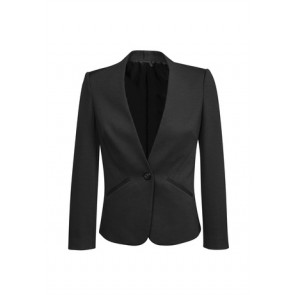 Biz Corporates Women's Collarless Jacket