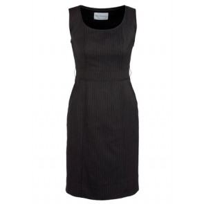 Biz Corporates Ladies Sleeveless Side Zip Dress