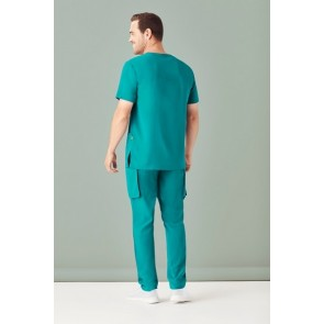 Bizcare Men's V Neck Scrub Top