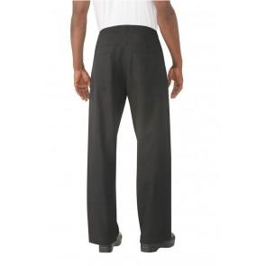 Chef Works Black Better Built Baggy Chef Pants