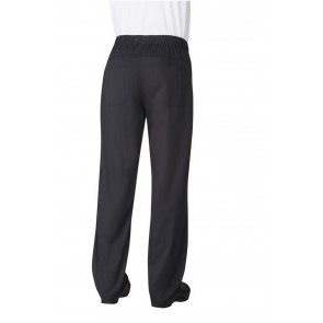 Chef Works Black Lightweight Baggy Chef Pants