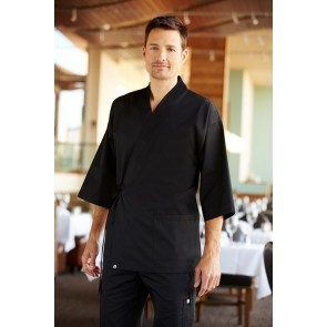 Chef Works Black Sushi Server Jacket