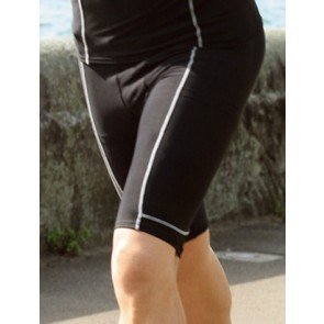 Bocini Mens Compression Wear Knee Length Bike Shorts - Model 2