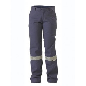 Bisley Womens Drill Pant 3M Reflective Tape