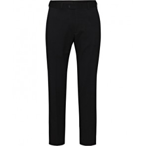 Bracks Plain Twill Ezifit Trouser - Black Front
