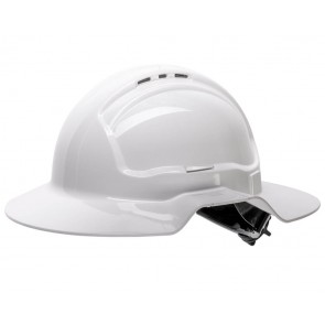 Tuffgard Broadbrim Vented Hard Hat Type 1