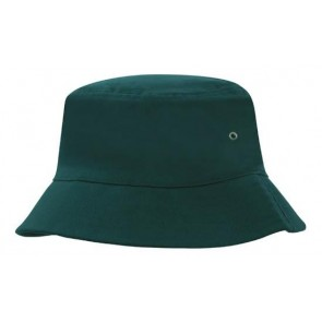 Brushed Sports Twill Bucket Hat - Bottle