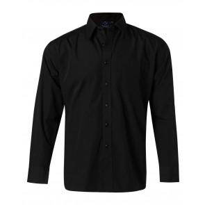 Benchmark Men's Poplin Long Sleeve Business Shirt
