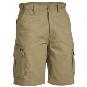 BSHC1007 - ORIGINAL 8 POCKET MENS CARGO SHORT KHAKI