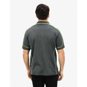 BeSeen Men's Short Sleeve Polo Shirt