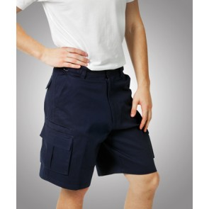 Budget Heavy Drill Cargo Shorts - Model