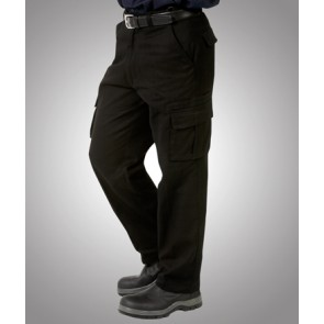 Budget Heavy Drill Cargo Trousers - Model