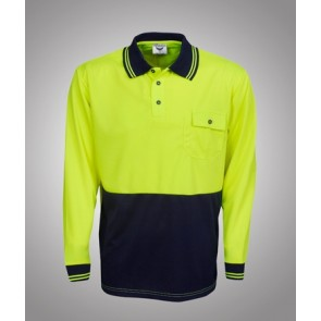 Budget HV Long Sleeve Polo
