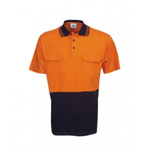 Budget HV Cotton Short Sleeve Polo