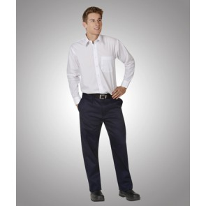 Budget Light Weight Cargo Navy Trousers 190gsm - Model