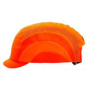 Bump Cap - Micro Fluoro Orange