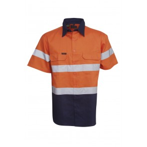 Budget HV DN SS 3 Way Cool Breeze Cotton Twill Shirt 155gsm