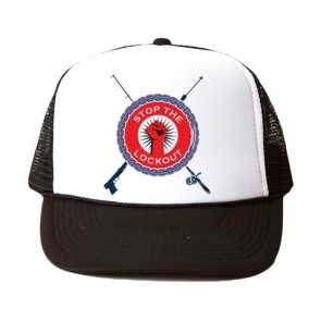 Stop The Lockout Custom Foam Mesh Truckers Cap