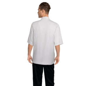 Chef Works Capri White 100% Cotton Chef Jacket