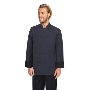 Chef Works Carlisle Executive Fine Stripe Chef Jacket