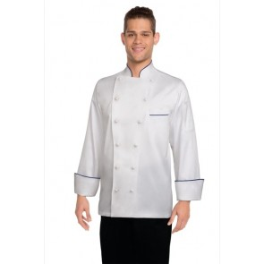 Chef Works Carlton White 100% Cotton Chef Jacket