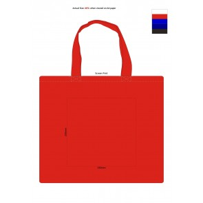 Carnaby Cotton Tote Bag Screen Print 1 Colour
