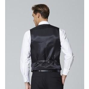 Carter Mens Self Stripe 3 Button Vest