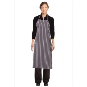 Chef Works Chalkstripe Adjustable Chefs Apron