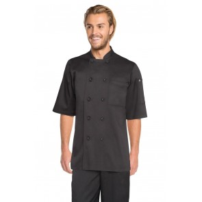 Chef Works Chambery Black Chef Jacket