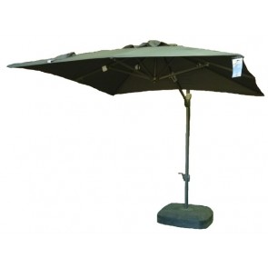 Cantilever Market Umbrella 2.5m Square Acrylic Canvass