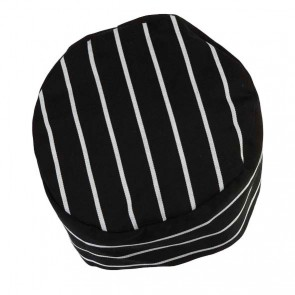 JB's wear Chefs Cap - Black White
