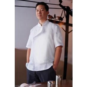 Chef Works Springfield Men's Zipper Chef Jacket