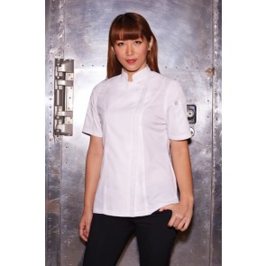 Chef Works Springfield Women's Zipper Chef Jacket
