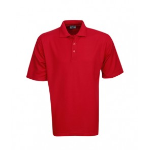 Children Premium Fine Pique Knit Polo - Red