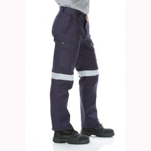 Workit Workwear Cotton Drill Regular Weight Taped Cargo Pants