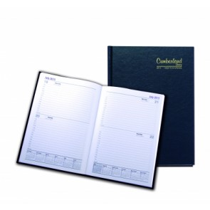 Cumberland Casebound Unbranded Diary - A4 One Day To A Page