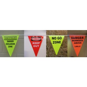 About Bunting Vinyl Safety Bunting 50M