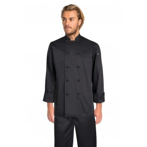 Chef Works Darling Black Chef Jacket