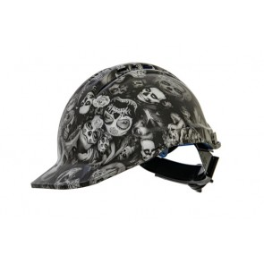 SSA Designer Hard Hat - Day Of The Dead