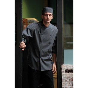 Chef Works Deep Grey 3/4 Sleeve Chef Shirt